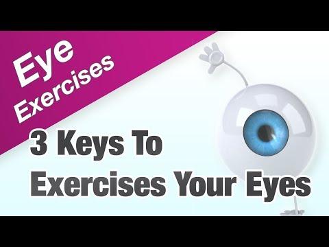 Eye Exercises - The 3 Keys To Exercises Your Eyes Effectively