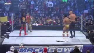 WWE Smackdown 28/01/11 - Rey Mysterio & Kofi Kingston vs Kane & Alberto Del Rio (Part 1) (HQ)