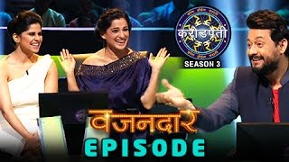 Sai Tamhankar & Priya Bapat On Sets Of Kon Hoil Marathi Crorepati | Swapnil Joshi | Colors Marathi
