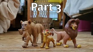The lion king stop motion part 3