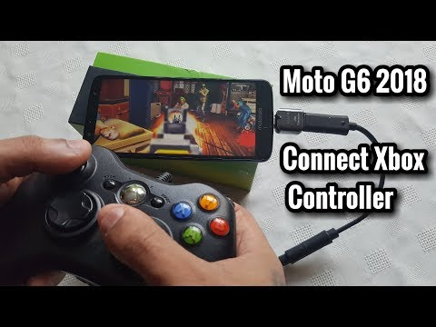 Moto G6 2018 Connect Xbox Controller For Better Gaming Experience