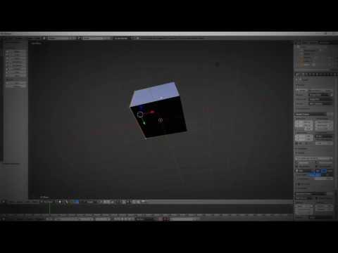 Blender Cube Tutorial