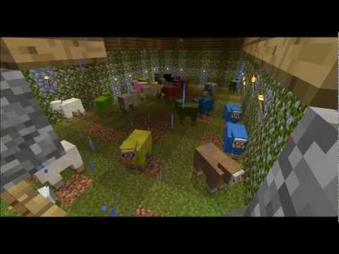 MineCraft: How to make sheep grow color wool