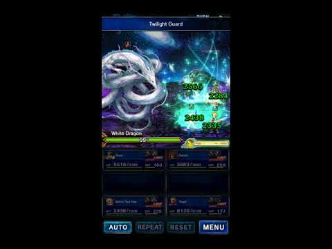 FFBE: Scorn of the White Dragon, Budget Clear