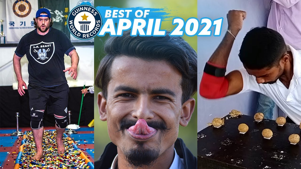 AMAZING APRIL RECORDS! - Guinness World Records
