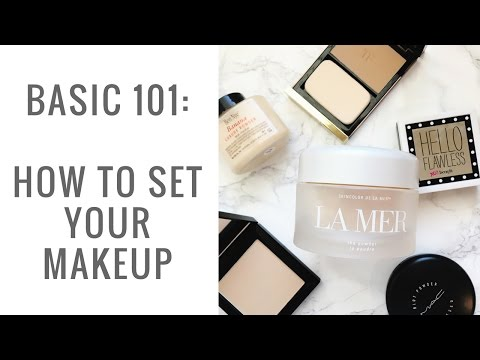 How To Set Your Makeup for Aging Skin    Powder 101 - Elle Leary Artistry