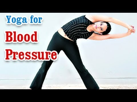 Yoga for Blood Pressure - Hypertension Control, Treatment and Nutritional Management in English