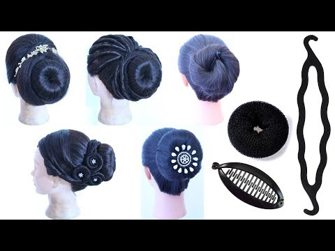 7 Easy French Roll Hairstyle With Using Hair Tools French