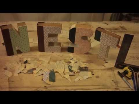 Anthropology Inspired Book Letters