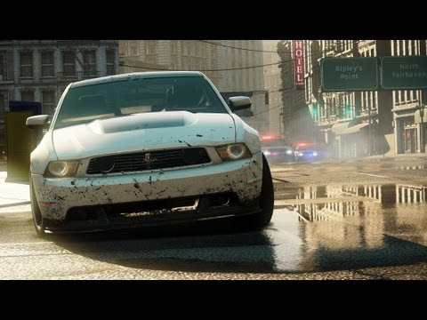 Need for Speed™ Most Wanted Ford Mustang Boss 302 Hidden Location Find It, Drive It (NFS001)