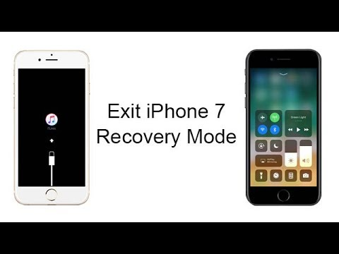How to Fix iPhone 7 Stuck on Restore Screen? 1 Click to Exit Recovery Mode