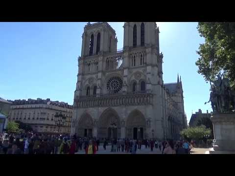 Sunday Morning Bells at Notre-Dame de Paris