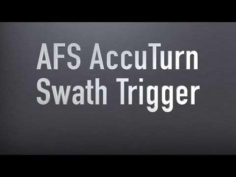 AFS AccuTurn: Swath Trigger
