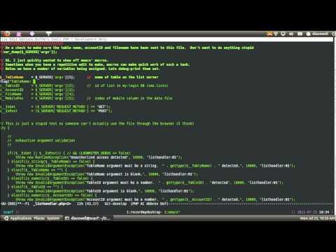 Emacs macros