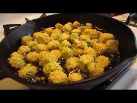 How to make Fried Okra | Cook n' Chat