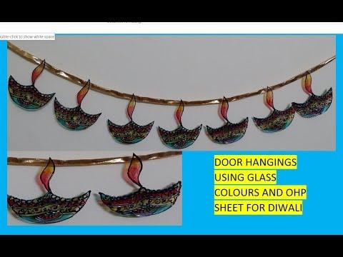DIY || How to make Toran for diwali at home