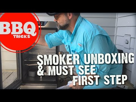 ELECTRIC SMOKER UNBOXING| Barbecue Tricks