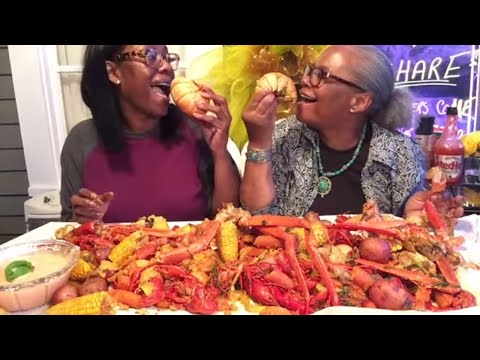 HOME-MADE SEAFOOD BOIL | CRAB LEGS |CRAWFISH | SHRIMP | LOBSTER |EASY RECIPE
