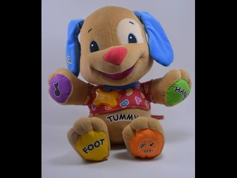 Fisher Price Laugh & Learn Tummy Puppy Talking and Singing