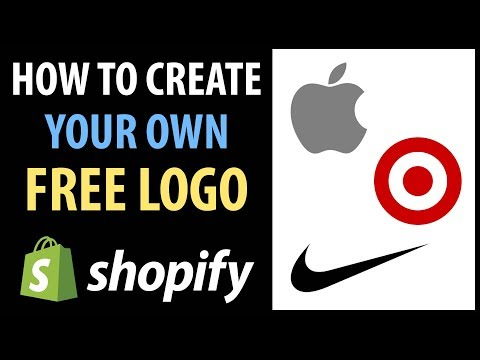 How To Create A Logo For Free - Shopify Dropshipping