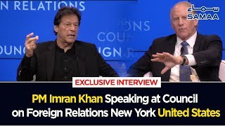 PM Imran Khan Complete Speech at Council on Foreigh Relations USA | 23 Sep 2019