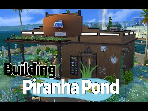 Piranha Pond - The Sims 4 | Speed Build