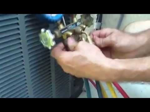 How to Purge Your Hoses Gauges; AC Repair