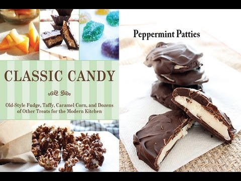 Abigail R Gehring, author of Classic Candy, Demonstrates Making Homemade Peppermint Patties
