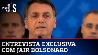 EXCLUSIVO: BOLSONARO FALA SOBRE VÍDEO DE REUNIÃO