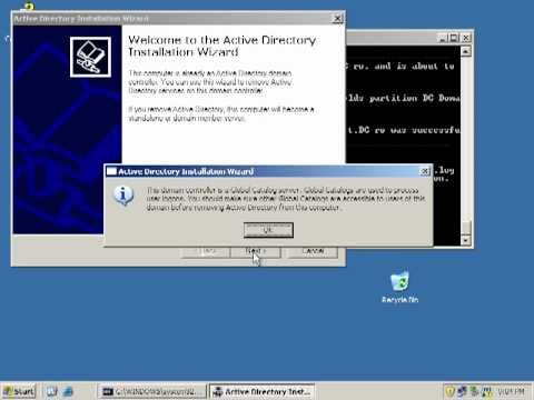Migration of Active Directory 2003 to 2008