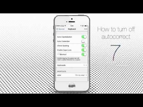 How to Turn Off Autocorrect on iPhone and iPad