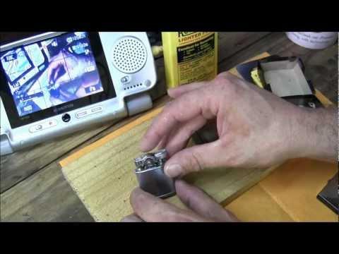Vintage Ronson Lighter Fixed! Bonus: I Set Myself on Fire! Just a little....