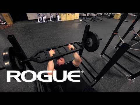 Movement Demo - Bench Pressing With The MG-1