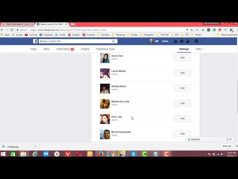 How to Change Facebook Page Admin | How to Add or Remove a Facebook Page Admin #Change fb Page Role