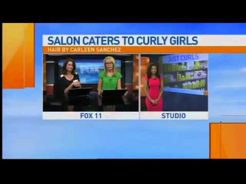 Curly Hair Salon News Interview.