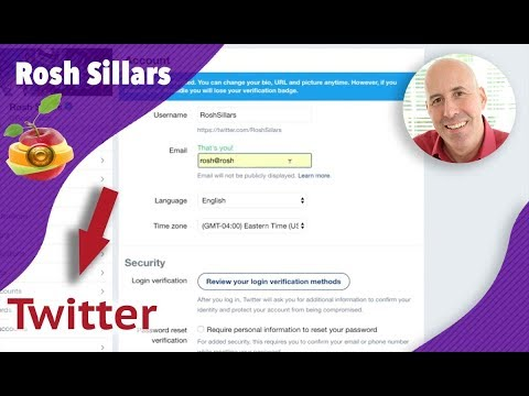 How To Change Twitter Email And Email Notifications