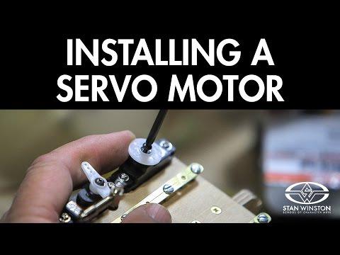 Build An Animatronic Head: Servo Motor Installation - FREE CHAPTER