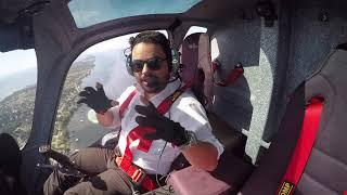 Gyrocopter Girl Flying EDVM to Hasselfelde Western City 2015 11 01