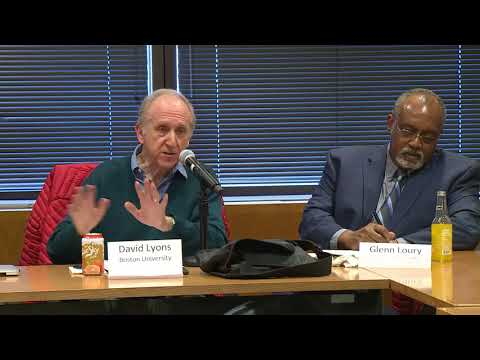 The Persistence of Racial Inequality in 21st Century America: A Symposium on the Work of Glenn Loury