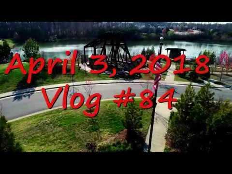 April 3, 2018 Vlog #84 a choppy video of the Midlothian Mines Park