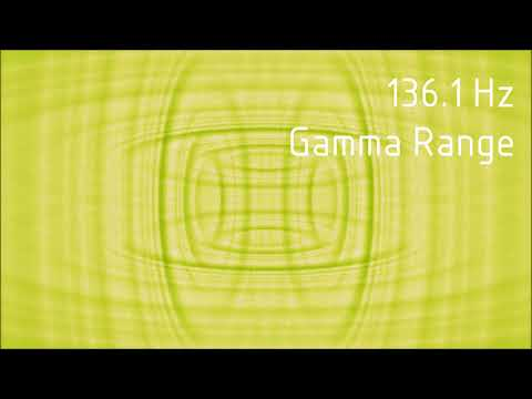 Pure 136.1 Hz Gamma Range Binaural Beats [30 min]