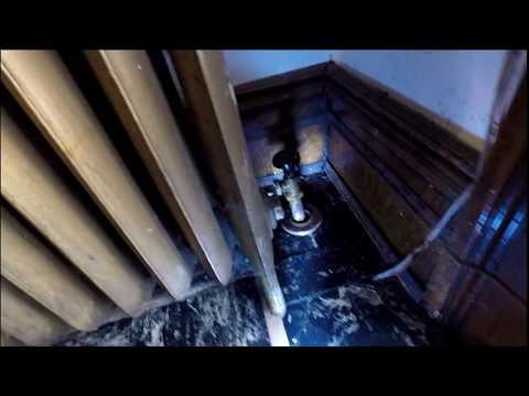 Remove hot water hydronic radiator