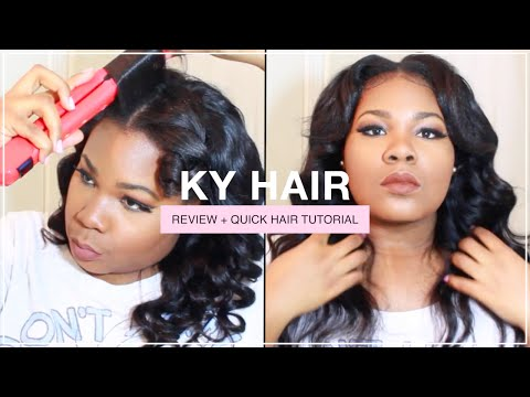 KY BRAZILIAN BODY WAVE HAIR + QUICK STYLING TUTORIAL | Mary Elizabeth