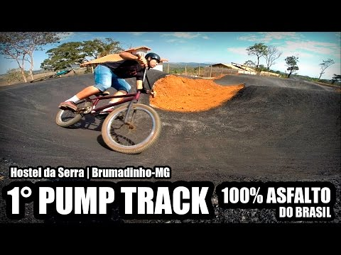 Pump Track   Hostel da Serra - MG   Brasil