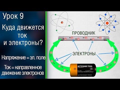 #9 Электрический ток и электроны