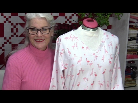 Getting to Know Your Serger/Overlock by Making Pajamas