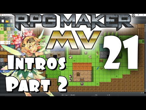 RPG Maker MV Tutorial #21 - Intro Custscenes PART 2