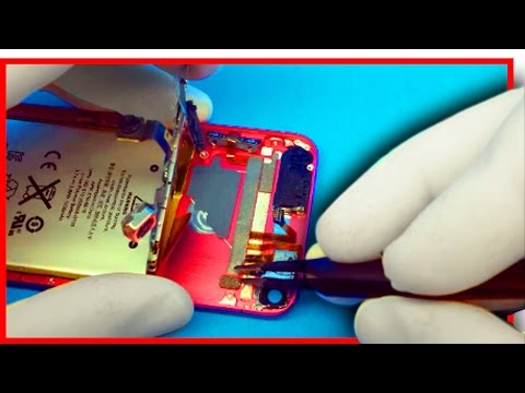 iPod Touch 5th Volume & Power Button Replacement