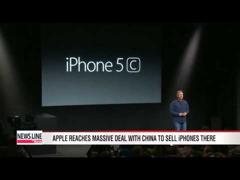 Apple reaches deal to sell iPhones through China Mobile