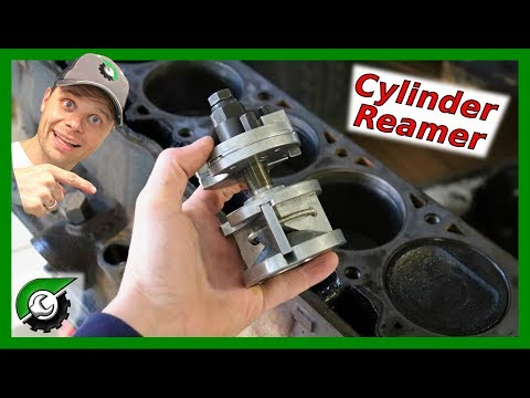 How to use a cylinder ridge reamer: Rebuild Part 8